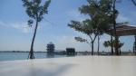 Hari yang cerah di Danau Jakabaring Palembang